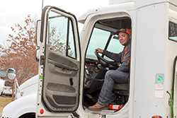 Chris Faltin, third generation truck driver, has advice for those considering going it alone with their own authority