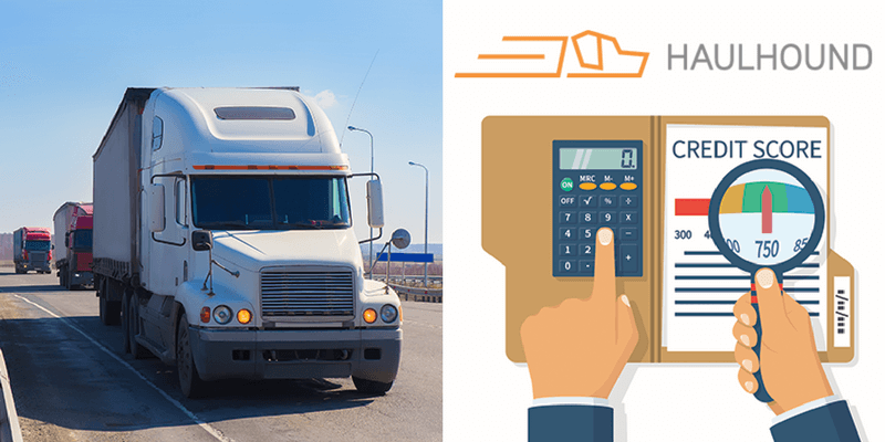 Some freight finding services like HaulHound offer factoring which can help cash flow for Independent Owner Operators