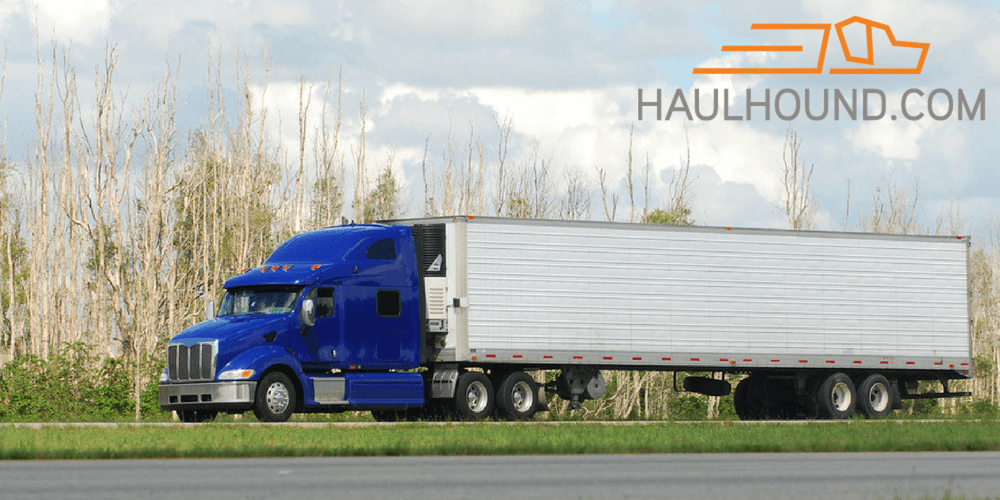 Dry Van freight can be found on loadboards, but is easy to get on the HaulHound app