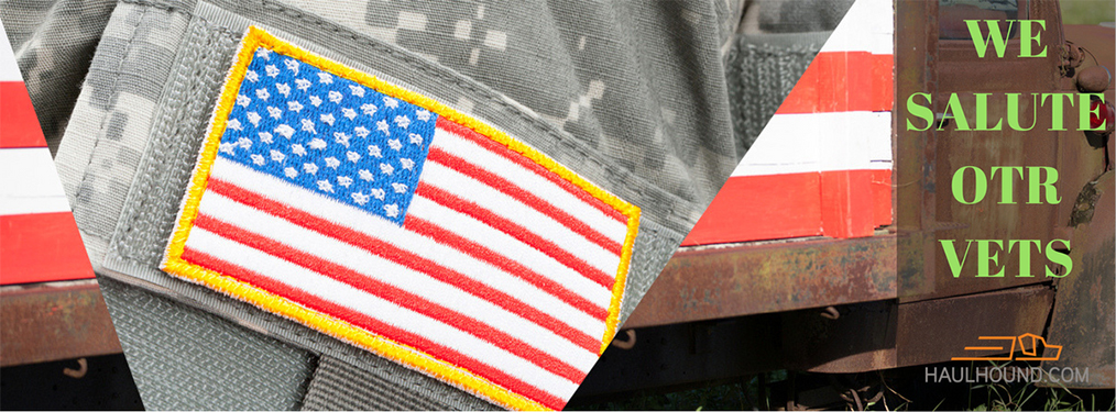 HaulHound supports military vets, and is so proud to be in an industry that provides them great jobs!