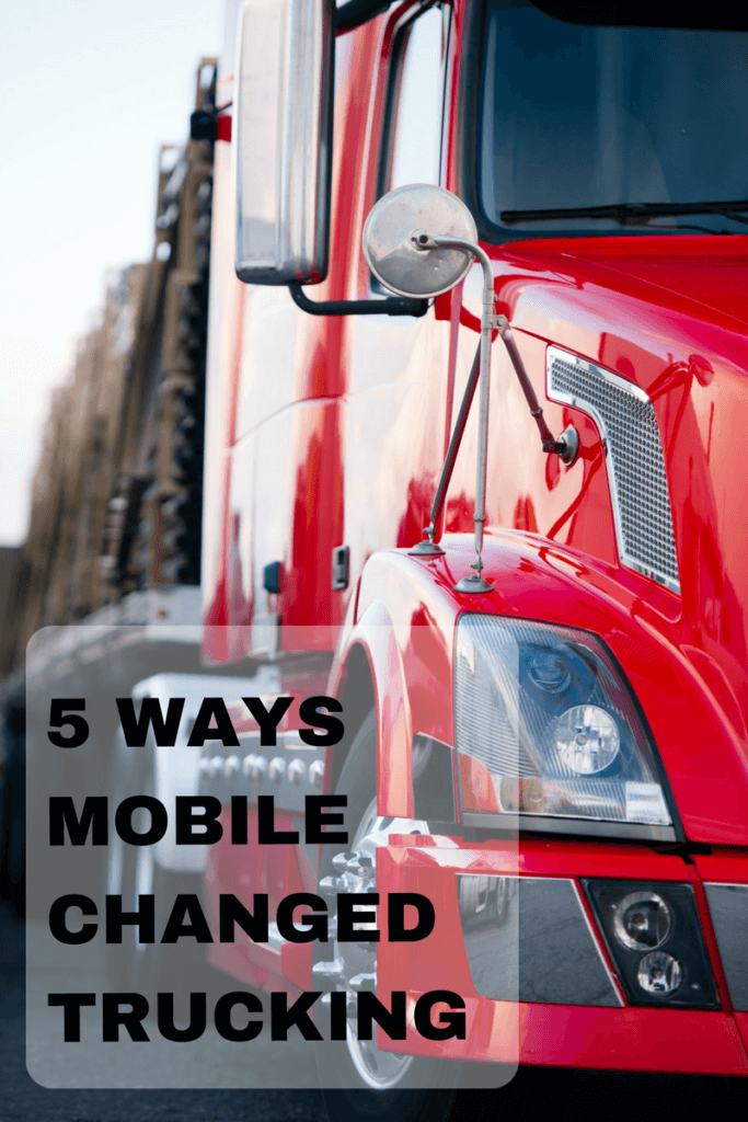 Mobile apps, including loadboard apps & electronic logging devices, are changing the transportation and logistics industries