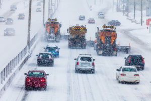 Truck drivers must take extra care in snowy winter weather